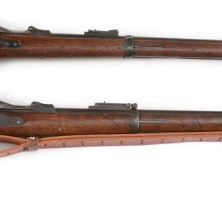 Lot consists of: (A) Springfield Model 1873 Trapdoor...