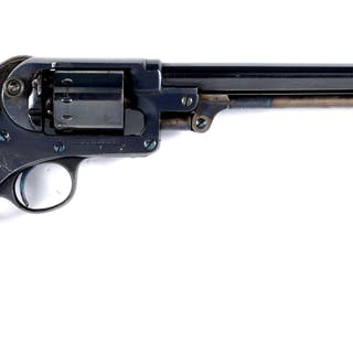 The frame on this revolver is simply superb with crisp markings