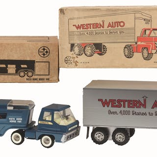 All are post-war and in original boxes