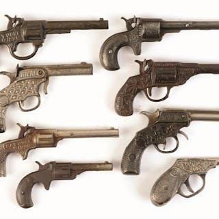 "Several blank guns including Kenton ""Rival"""
