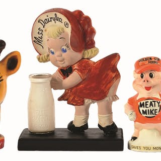 This group of four classic advertising figures are made...