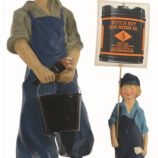 The Dutch Boy is an iconic mascot that goes back over 100 years