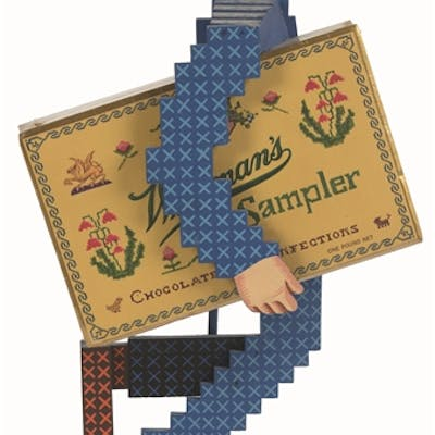 The Whitmans Sampler store display figure is a true rarity