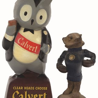 Calvert whisky used this cute owl to promote their brands...