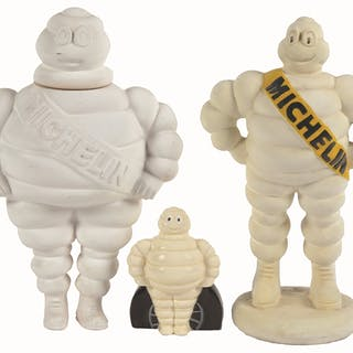 Michelin Tires is the theme of this lot of three