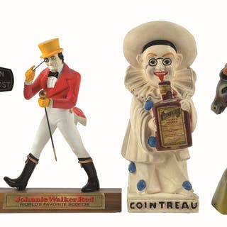 Another group of interesting back bar or liquor store display pieces