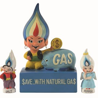 The Gas Genie bank is also one of the rarest advertising...
