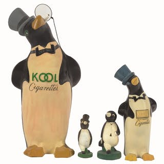 The Kool Cigarette Penguin is a classic