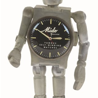 The Mido Watch Robot is an impressive triple collectible