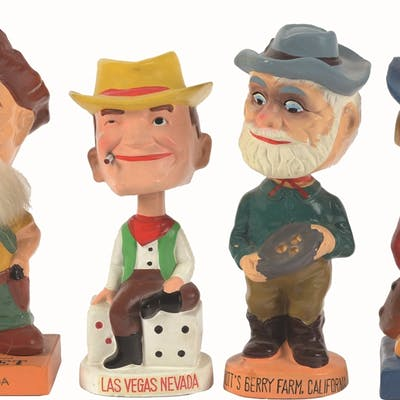 Here is another group of vintage 50's - 60's bobble heads