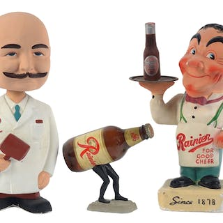 Rainier beer produced much advertising over the years