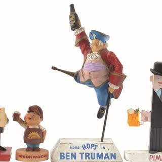 This lot represents some of the finest figures in English brewing