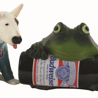 Budweiser made these Spuds Mackenzie and Bud Frog light...