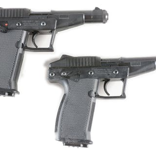 Lot consists of: Two of the first polymer guns made