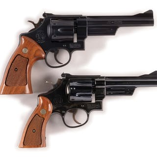 Lot consists of: (A) Model 28-2 Smith & Wesson Highway...