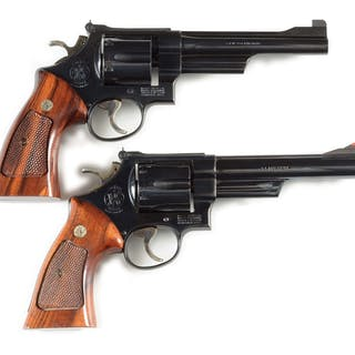 Lot consists of: (A) N frame Smith & Wesson Model 27-4...