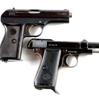 Lot consists of (A) Nazi marked World War II CZ 27