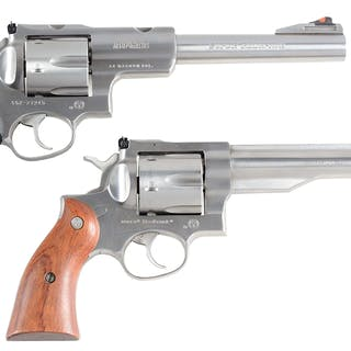 Lot consists of: (A) Ruger Super Redhawk with adjustable rear sight
