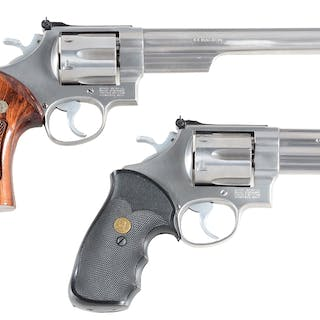 Lot consists of: (A) Smith & Wesson Model 629-3 with...