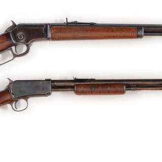 Lot consists of (A) Marlin Model 1892 Lever Action