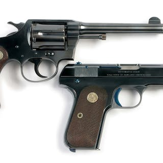 Lot consists of (A) Police Positive .38 special double action