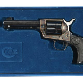 "Classic 4 - 3/4"" .45 Colt Single Action Army revolver..."