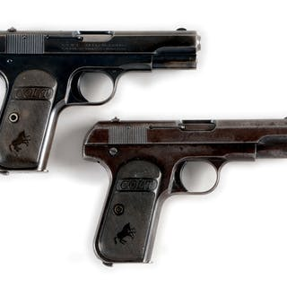 Lot consists of (A) This gun was made in 1922 and has all...