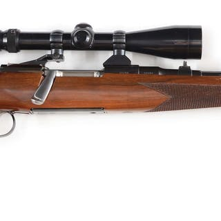 This exquisite Austrian bolt action rifle features the...