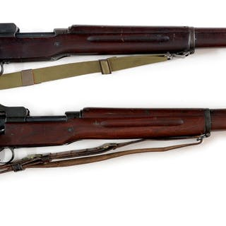 Lot consists of (A) Eddystone Model 1917