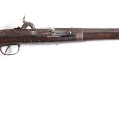This gun is still in the original .52 caliber and rifled