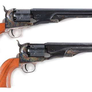 Lot consists of a consecutive pair of Colt 2nd Generation...