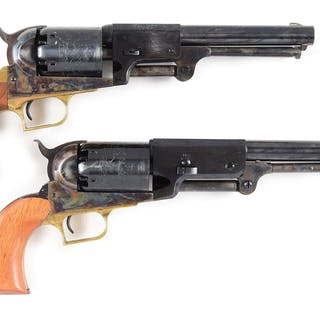 Lot consists of: (A) 2nd Generation Colt 1st Model...