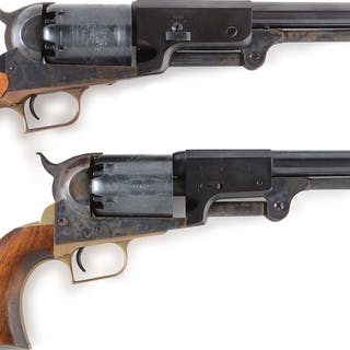 Lot consists of (A) Colt 2nd Generation Blackpowder Series 1847 Walker
