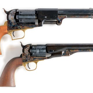 Lot consists of: (A) Colt 2nd Generation Blackpowder Series First Model Dragoon