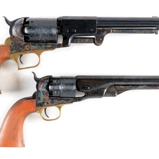 Lot consists of (A) Colt 2nd Generation Blackpowder Series First Model Dragoon