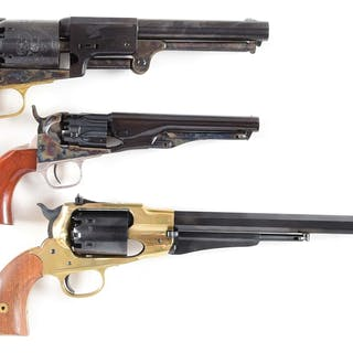 Lot consists of (A) Colt Second Generation Blackpowder...
