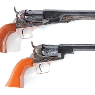Lot consists of (A) Colt Second Generation Blackpowder Series 1862 Pocket Police