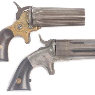 Lot consists of (A) Jacob Rupertus 8 shot .22 derringer