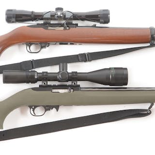 Lot consists of: (A) Ruger 10/22 Carbine semi-automatic...