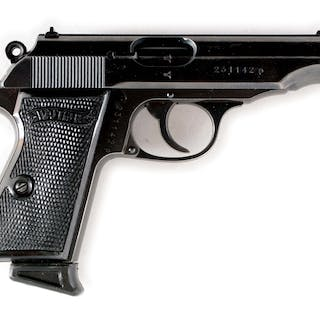 Features include post front and dovetailed rear sights
