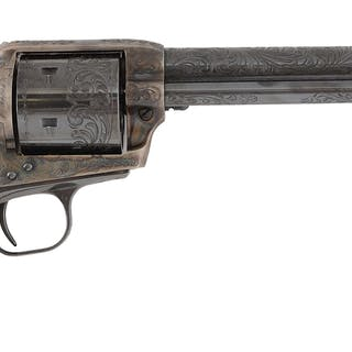 This revolver has special unfluted cylinder