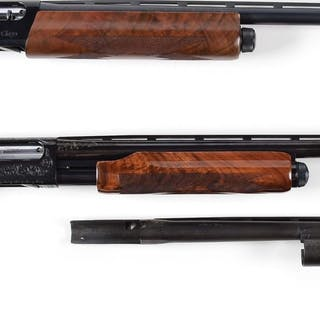 Lot consists of (A) Remington Model 11-87 Sporting Clays model with two barrels