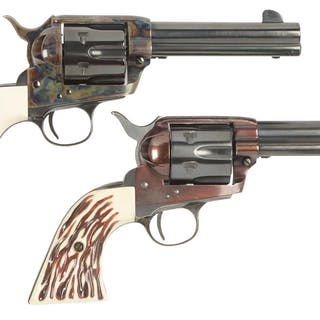 Lot consists of (A) Great Western II copy of the old Colt...