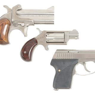 Lot consists of (A) American Derringer Model M-1