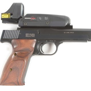 """Offered is a 5"""" version of the famous Model 41 first introduced in 1957"""