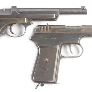 Lot consists of (A) Argentine contract Steyr Model 1905...