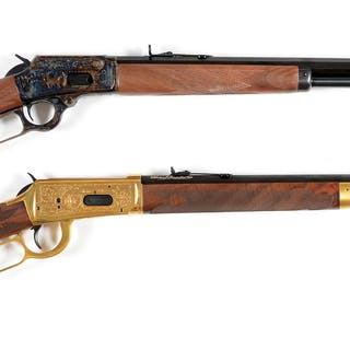 Lot consists of: (A) Marlin 1894 Century Limited Model...