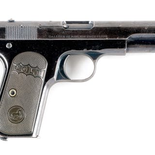 While the Browning patent on left side of slide is no longer being used