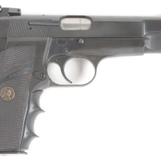 The classic Belgium High Power with target sights