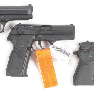 Lot consists of (A) Beretta Model 92 FS Centurion with 4 15 round magazines